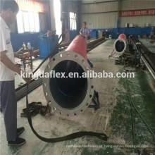 Tubulação de mangueira flexível da bomba de sucção do óleo diesel do combustível do grande diâmetro de 16 polegadas