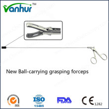 Broncoscopia Instrumentos New Ball-Carry Grasping Forceps