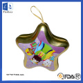 Pentagonal Star Type Metal Tin Party Favores