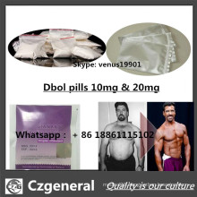 Safe Delivery 99% Purity Steroid Powder Methanabol Best Price