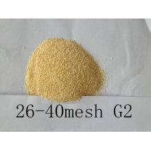 Granulade d'ail déshydratée à l'air 26-40mesh Bonne qualité