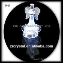 K9 Crystal Angel with LED Light Base