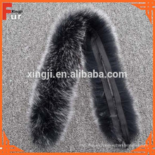 Lujoso Fox Fur Real Fur Trim