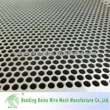 2016 muestra libre agujero de perforación hoja en stock / agujero cuadrado hoja de metal perforada
