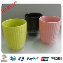 Color Glaer Pots de flores baratos / Diferentes tipos Potes de flores / Plantador Proveedor Terracotta Flower Pots & Planters