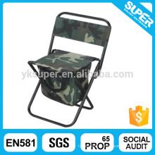 Taburete ligero de la pesca de la silla que acampa con el bolso más fresco