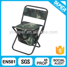 Lightweight Camping Chair Fishing Stool With Coolerbag