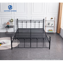 Modern Design Steel Furniture Metal Bed Frame for Single Queen King Size