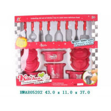 design cooking play set plastic kitchen set