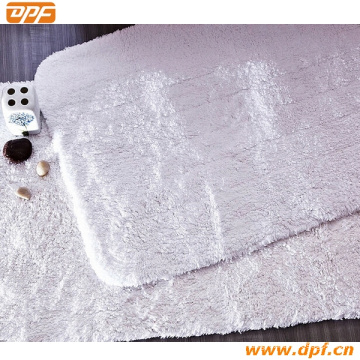 100% High Quality White Bath Rug and Rug (DPF2430)