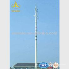 Pôle de télécommunication télescopique monocanal