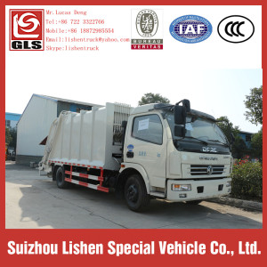 Garbage Compressor Truck Dongfeng Rubbish Compress