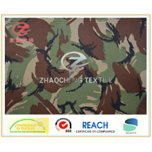 (England Style) 300t Poly Pongee Fabric with Camouflage Printing PU Coated (ZCBP099)