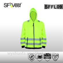 EN ISO 20471 Safety Uniform Sweatshirt With Hood