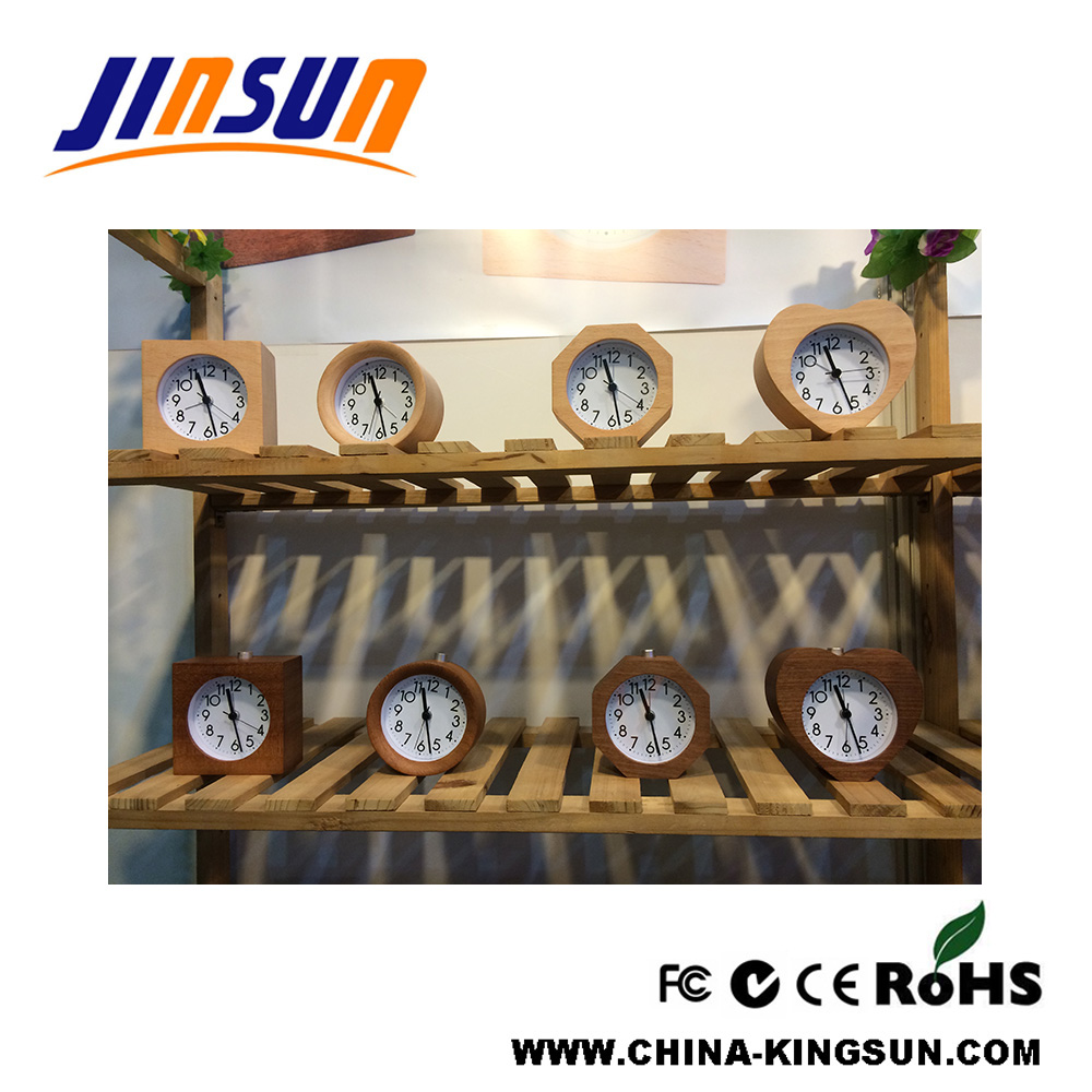 Wooden Quartz Clock