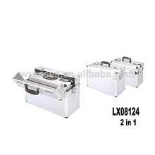 nuevo diseño 2 en 1 maletín de aluminio de alta calidad de China fabricante