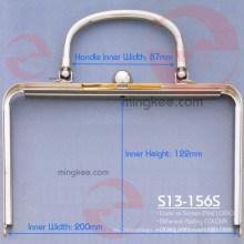 Embrague de la manija del bolso del color de Grand Class de alta calidad para el bolso de las mujeres