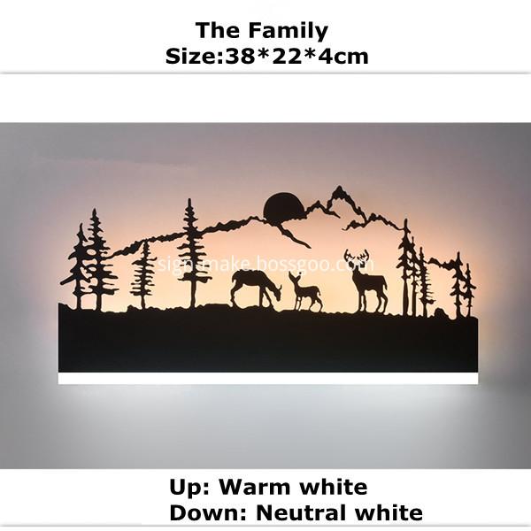 LED Sconces Wall Lamp