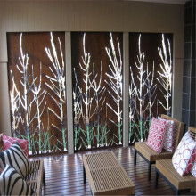 Laser Cut Metal Screen dan Dekoratif Panel