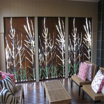 Laser Cut Metal Screen and Decorative Panels