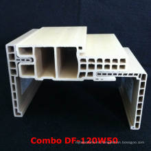 Marco combinado de la puerta de WPC Df-120W50 + WPC Architrave at-80h60