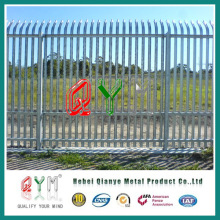 High Quality PVC Coated Steel Palisade Fence CE, SGS, ISO, BV