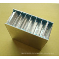 PE / PVDF Walzenbeschichtete Aluminium-Waben-Sandwichplatten