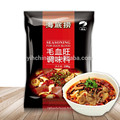 Saveur locale du Sichuan Hot-pot assaisonnement pour le sang-du-chou avec sauce au chili