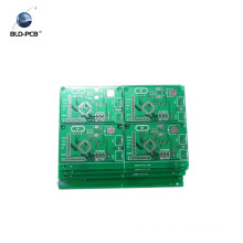 2layer Fr4 green solder mask 1.6mm battery charging board pcb and pcb assembly