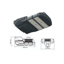 new design street light ideal for public lighting parking spaces sidewalks footpath 60W LED street light