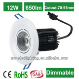 replacement 50W Halogen lamp COB Downlight 6W 10W 12W