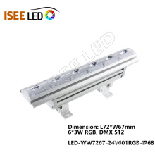 LED DMX Outdoor Wall Washer Lighting