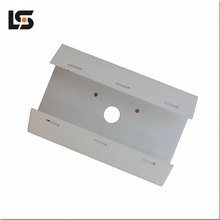 Alu-alloy Bracket for road Surveillance Plastic-spray Post Bracket For Aluminum die casting Outdoor Die Casting Manufacturer