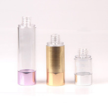 Frasco plástico pequeno de 15ml para garrafas vazias baratas do hotel do champô (NAB21)