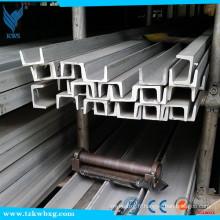 Canal U en acier inoxydable 316 avec dimensions 70 mm x 35 mm x 6 mm d'épaisseur