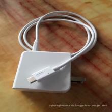 Laststrom 5A, Typ C zu Typ C Kabel, Datenübertragung Standard: USB2.0