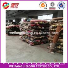 China 133 * 72 popelín de tela de camisas de color sólido popelina De buena calidad tela de algodón de spandex tejidas para tela