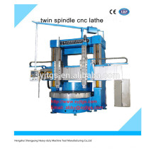 High precision cnc twin spindle cnc vertical lathe price for sale