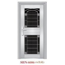 Puerta de acero inoxidable para sol exterior (SBN-6686)