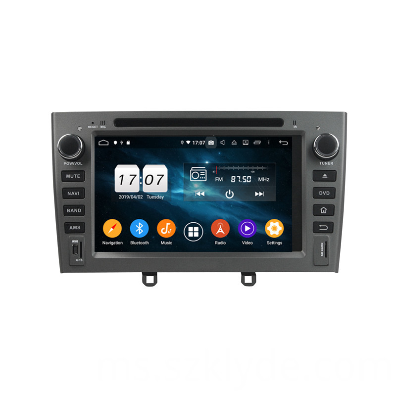 car multimedia units for PG 408