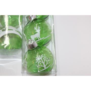 Рождественский декоративный шарик Пластиковый шарик