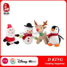 Natal Animais Recheados Brinquedos Brancos Presentes Yangzhou Fabricante