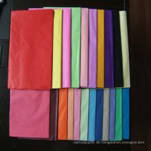 Seidenpapier zum Verpacken von Kleidung oder Schuhen