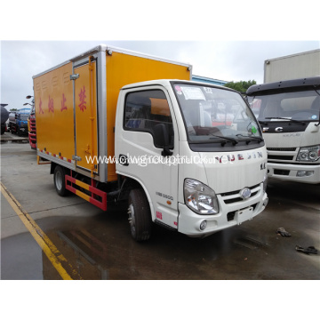 YUEJIN 4x2 dangerous goods transport truck