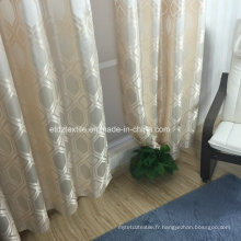 Tissu attrayant de haute qualité pour rideau