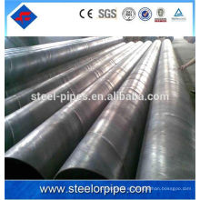 Din2393 ms erw tubería de acero tubo de acero fluido