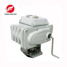 4-20ma encendido-apagado tipo 220v 24V 12v cuarto de vuelta actuador de válvula motorizado eléctrico con señal de retroalimentación