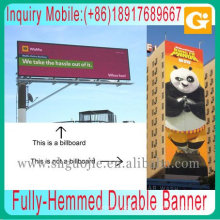 Fully-Hemmed Heavy-Weight Durable Weather-Resistant Vinyl Banner