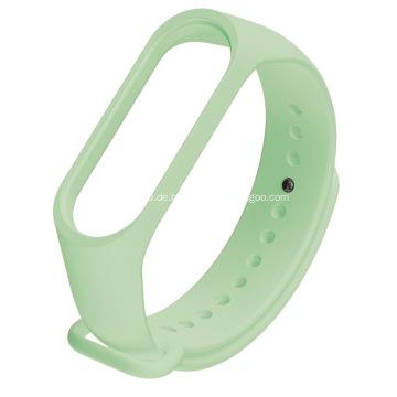 Drucken Sie Gummiarmbänder Mehrfarbige Silikon-Stretch-Armbänder