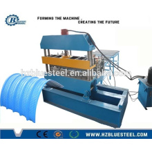 Arch Roof Roll Forming Machine / Roof Panel Curving Machine / Steel Arch Sheet Bneding Crimping machine